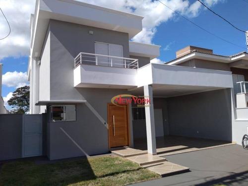 Sobrado À Venda, 234 M² Por R$ 950.000,00 - Residencial Eldorado - São Carlos/sp - So0318