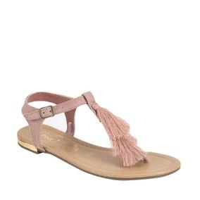 Sandalia Casual Tipo Ante Price Shoes A222 Rosa San 179664