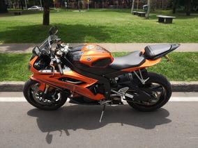 Yamaha R6r 2009 Edicion Naranja