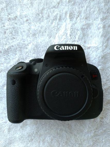 Câmera Canon T5i + Lente 18-55mm + Lente 50mm + Acessórios