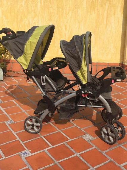 Cochecito Doble Baby Trend Comprado En Usa