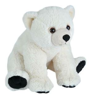 Oso Polar Bebé De Peluche Wild Republic Cuddlekins