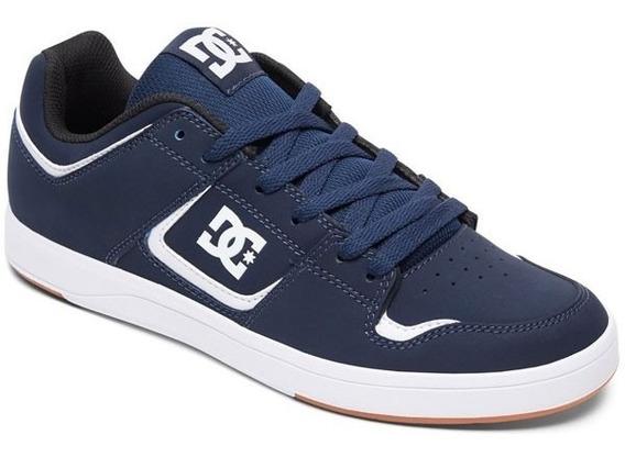 Zapatillas Dc Shoes Cure Navy Hombre - Big Buey -