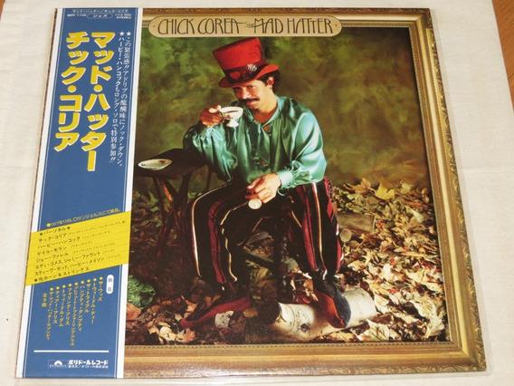 Chick Corea - The Mad Hatter Lp Vinil Disco Japonês C/ Obi