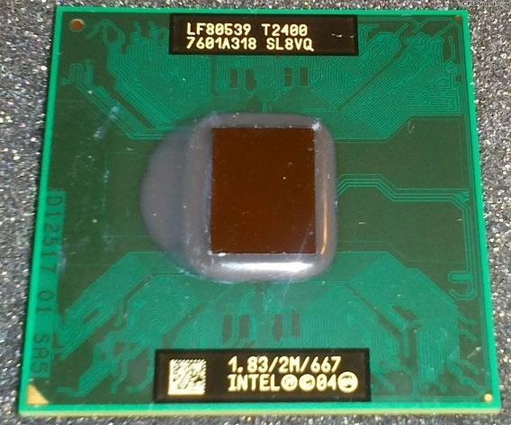 Processador Intel Core Duo T2400 Funcionando Perfeitamente
