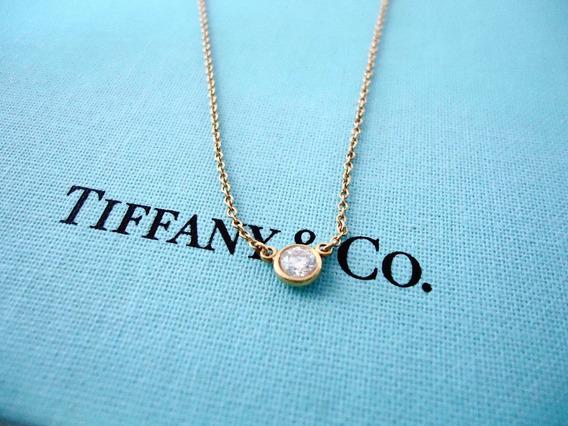 Collar Tiffany Elsa Peretti Diamonds By The Yard .15 Carats.