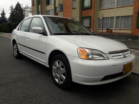 Honda Civic Lx 2002. Perfecto Estado. Cuero. Economico