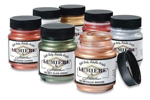Jacquard Products Lumiere - Pintura Para Tela, 2 Onzas Frasc