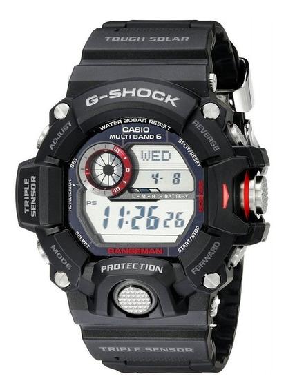 Relogio Casio G-shock Gw9400-1 Rangeman 12x Sem Juros Solar