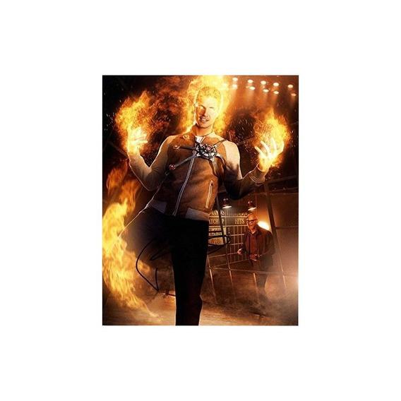 Robbie Amell Firmado 11x14 Legends Of Tomorrow Foto Aftal Ua