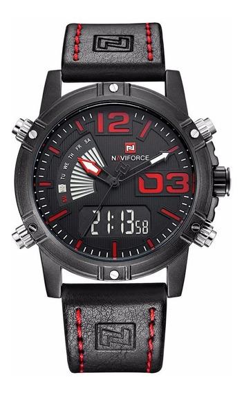 Relógio Militar / Esportes Naviforce Nf9095 2019