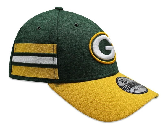 Gorra New Era 39 Thirty On Field 2018 Packers Sideline Defen