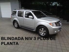 Pathfinder Excl V6 Blindada De Planta 3 Plus 2012 (nueva)