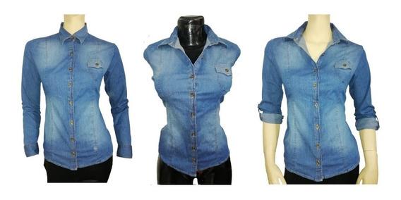 Camisa Jean De Mujer
