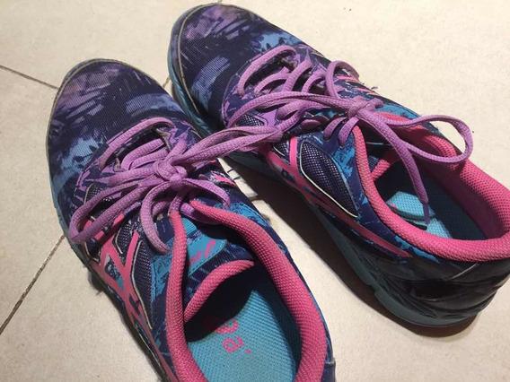 Zapatillas Asics De Nena Usa 6 1/2 En Muy Buen Estado