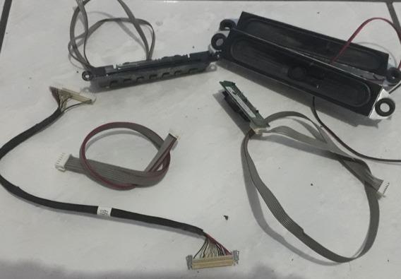Kit Cabo Lvds Auto Falante Sensor Teclado Tv Semp 32la800