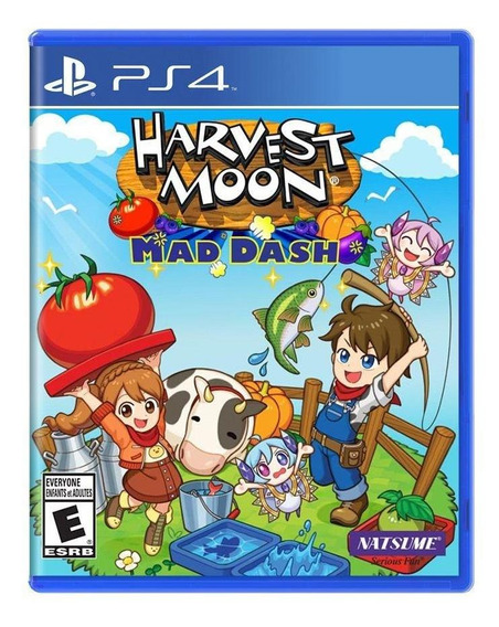 Harvest Moon Mad Dash Ps4 Mídia Física Novo Lacrado