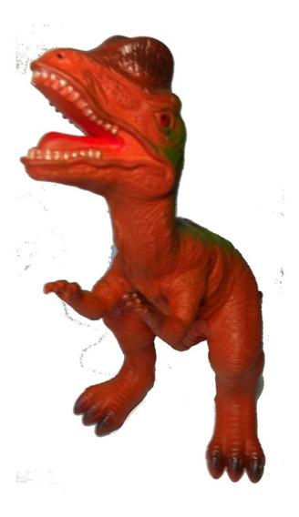 Dinossauro De Borracha Flexível Grande 30 Cm