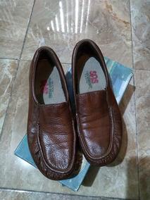 Zapatos Sas Mujer Twin Brandy Talla 6 Mexicano Usados
