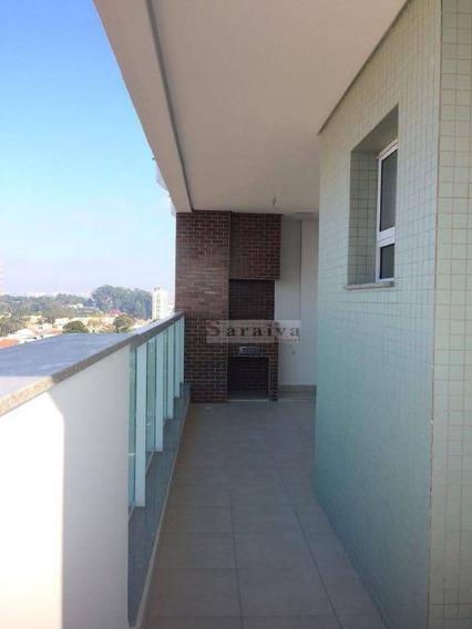 Apartamento Residencial À Venda, Jardim Hollywood, São Bernardo Do Campo. - Ap0766