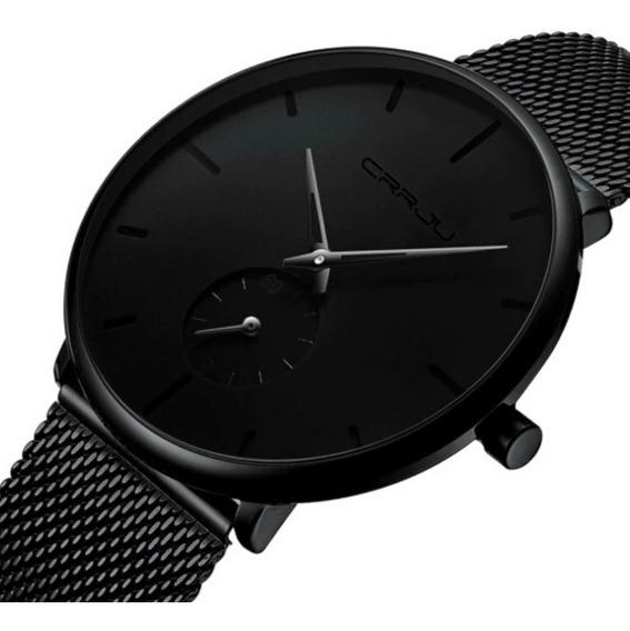 Relógio Masculino Crrju De Luxo Original À Pronta Entrega