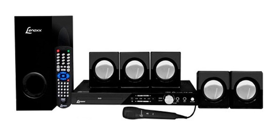 Home Theater Dvd Usb Karaokê 270w Rms Ht723 Lenoxx