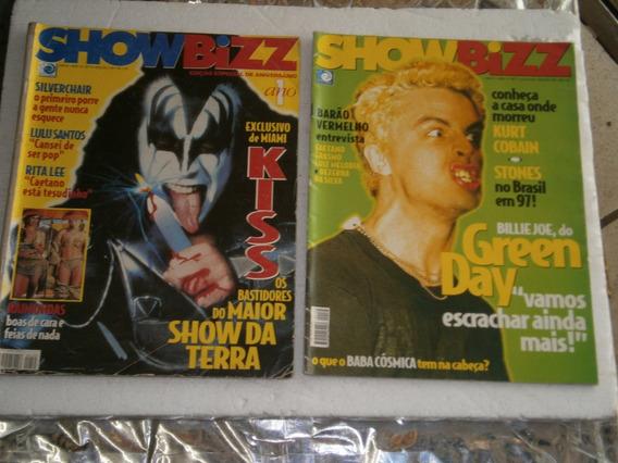 20 Revistas Show Bizz Por R$ 60,00