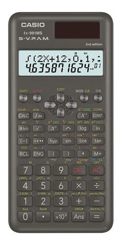 Calculadora Cientifica Casio Fx-991ms 2° Edicion Relojesymas