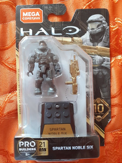 Spartan Noble-six Mega Construx Halo Reach