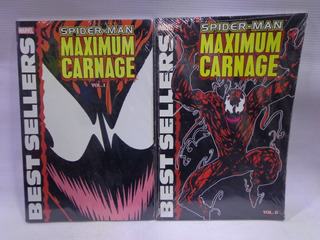 Maximum Carnage Vol.1 Y 2 Spider-man Marvel Best Sellers