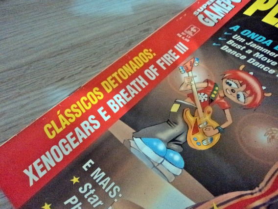 Playstation Magazine Br 1999 Xenogears Breath Of Fire Iii