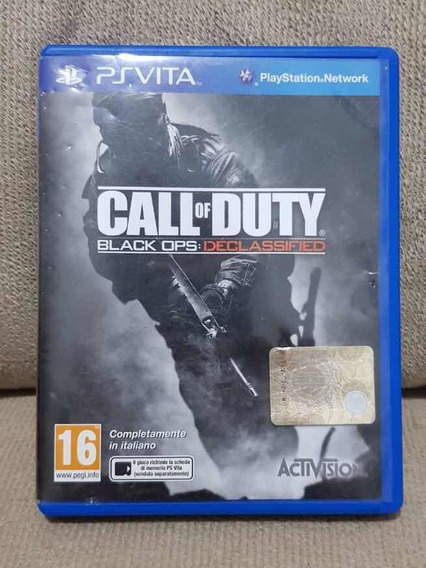 Call Of Duty Black Ops Ps Vita - Italiano