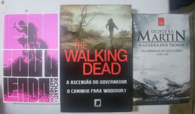 Kit 04 Livros Eu Sou A Lenda Guerra Dos Tronos Walking Dead