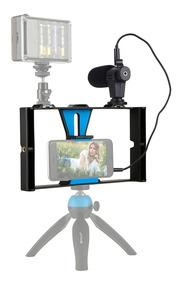 Puluz Smartphone Estojo Fotografia Com Câmera Handheld