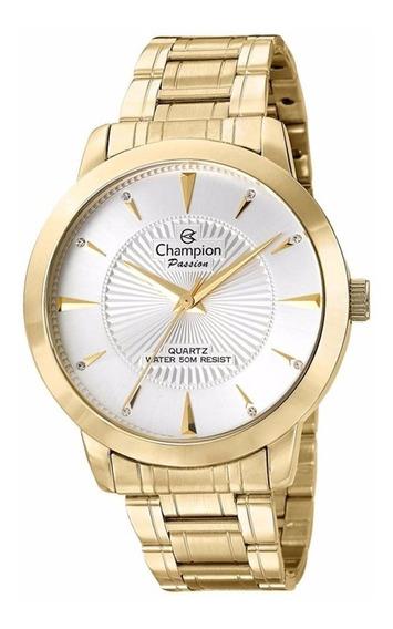 Relogio Champion Dourado Passion