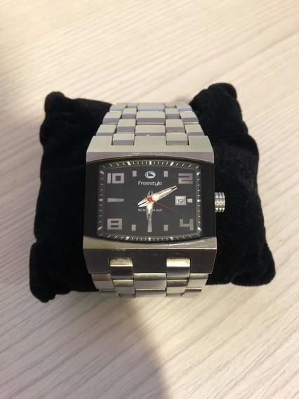Relógio Freestyle Prateado - 1 Ano De Uso