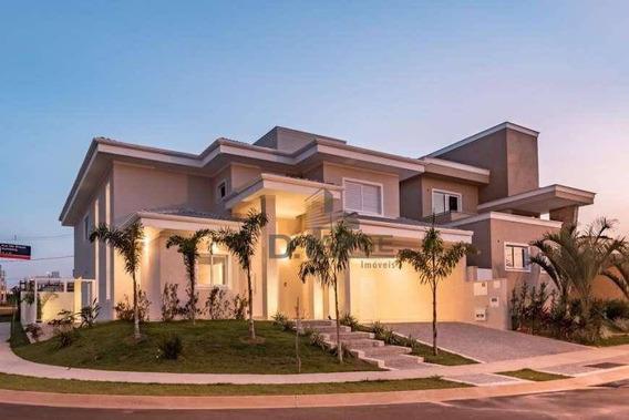 Casa Com 5 Dormitórios À Venda, 315 M² Por R$ 2.000.000 - Loteamento Parque Dos Alecrins - Campinas/sp - Ca13021