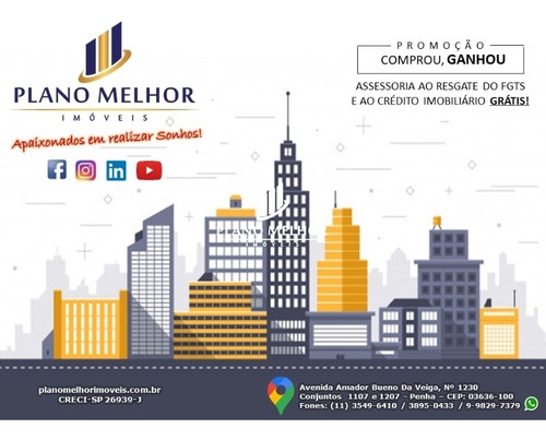 Apartamento Residencial Para Venda Na Penha / Jardim Três Marias Com 2 Dormitórios Sendo 1 Suíte Com 1 Vaga - Ap0497. - Ap0497