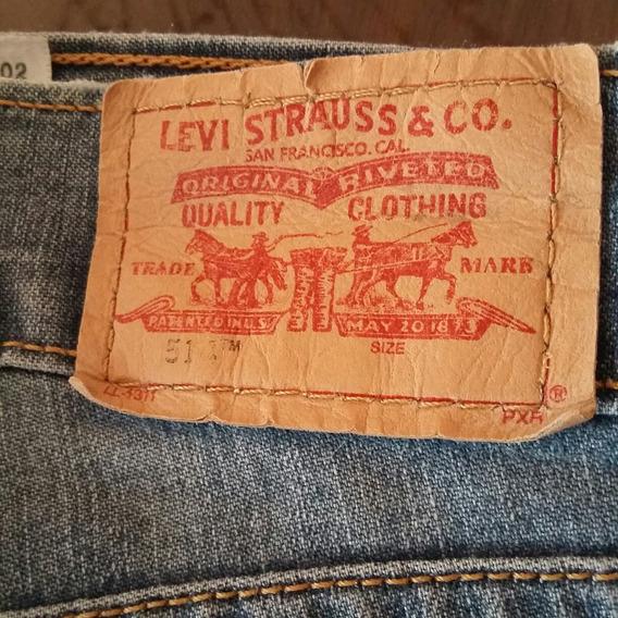 Pantalon Levis 514 W27 L32 ( 5vrds)