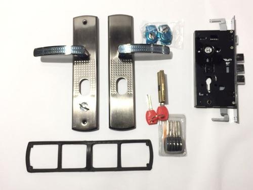 Cerradura Marca Saco Kit Completo Para Puertas Multilock
