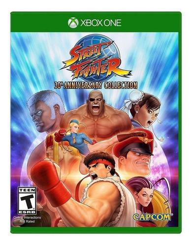 Imagen 1 de 5 de Street Fighter 30th Anniversary Collection Standard Edition Capcom Xbox One  Físico
