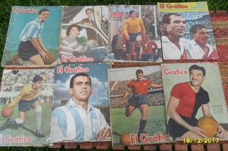 Lote 4 Antiguas Revistas El Gráfico A Elección