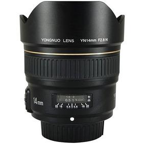 Lente Grande Angular Yongnuo 14mm F/2.8 P/ Nikon(lançamento)