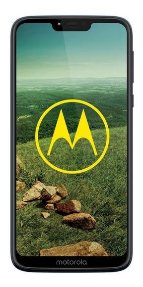 Celular Libre Motorola Moto G7 Power Xt1955-2 Azul Marino