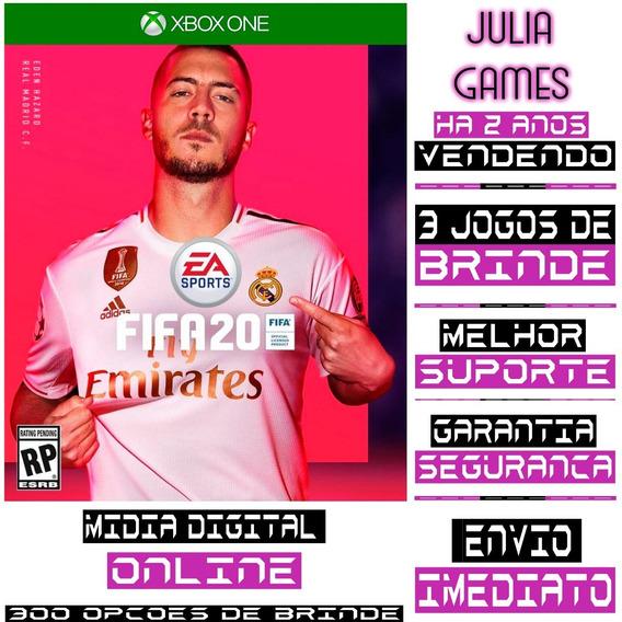 Fifa 20 Português Br Xbox One Digital Online + Brinde