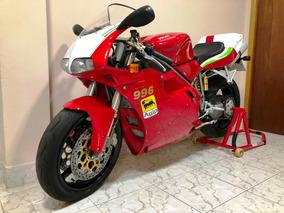 Ducati 996 Desmoquattro Super Bike Aceito Troca