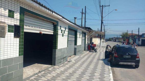 Vende-se 5 Loja E 2 Residencias Em Terreno De 382,60m² Na Vila Antártica Em Praia Grande - V500