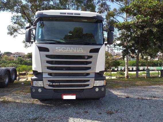 Scania R-440 6x2 2018 Com Retarder Suspensão Pneumática Pouc