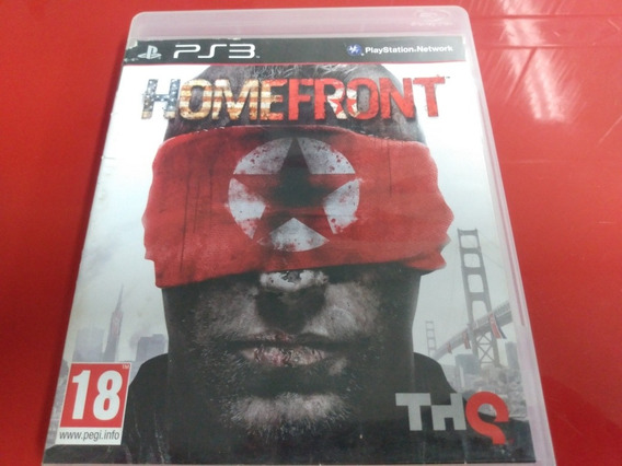 Home Front Ps3 R$45,00