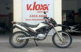 Honda Nxr Bros 150 Es Preta 2009